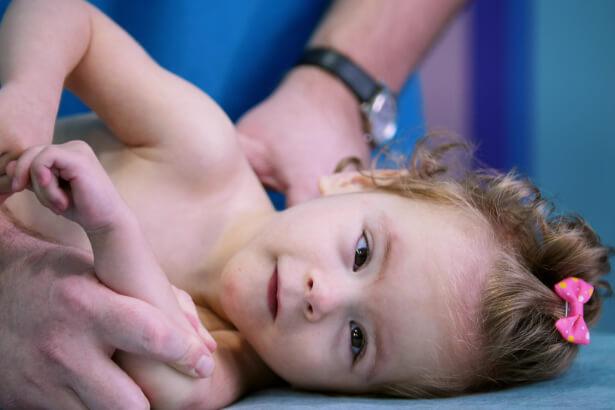 Säuglings- und Kindertherapie Vojta für Kinder